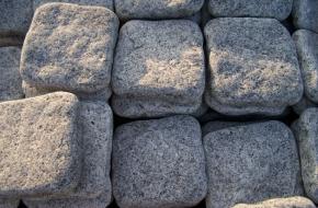 Granite Cubes (cobbles)