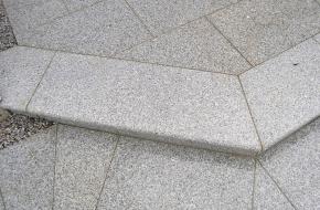 Granitstufen - poliert
